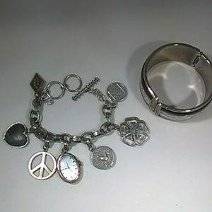Lucky brand watch and bonus bracelet